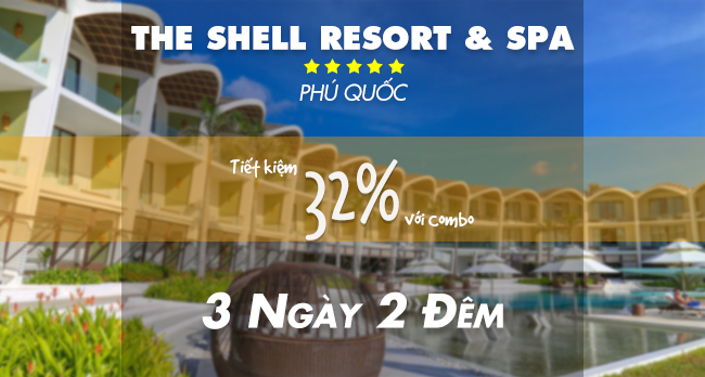 The Shell Resort 5* Phú Quốc