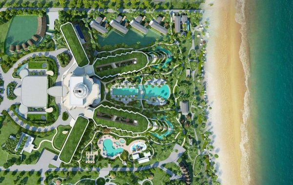phong cảnh InterContinental Phu Quoc Long Beach Resort